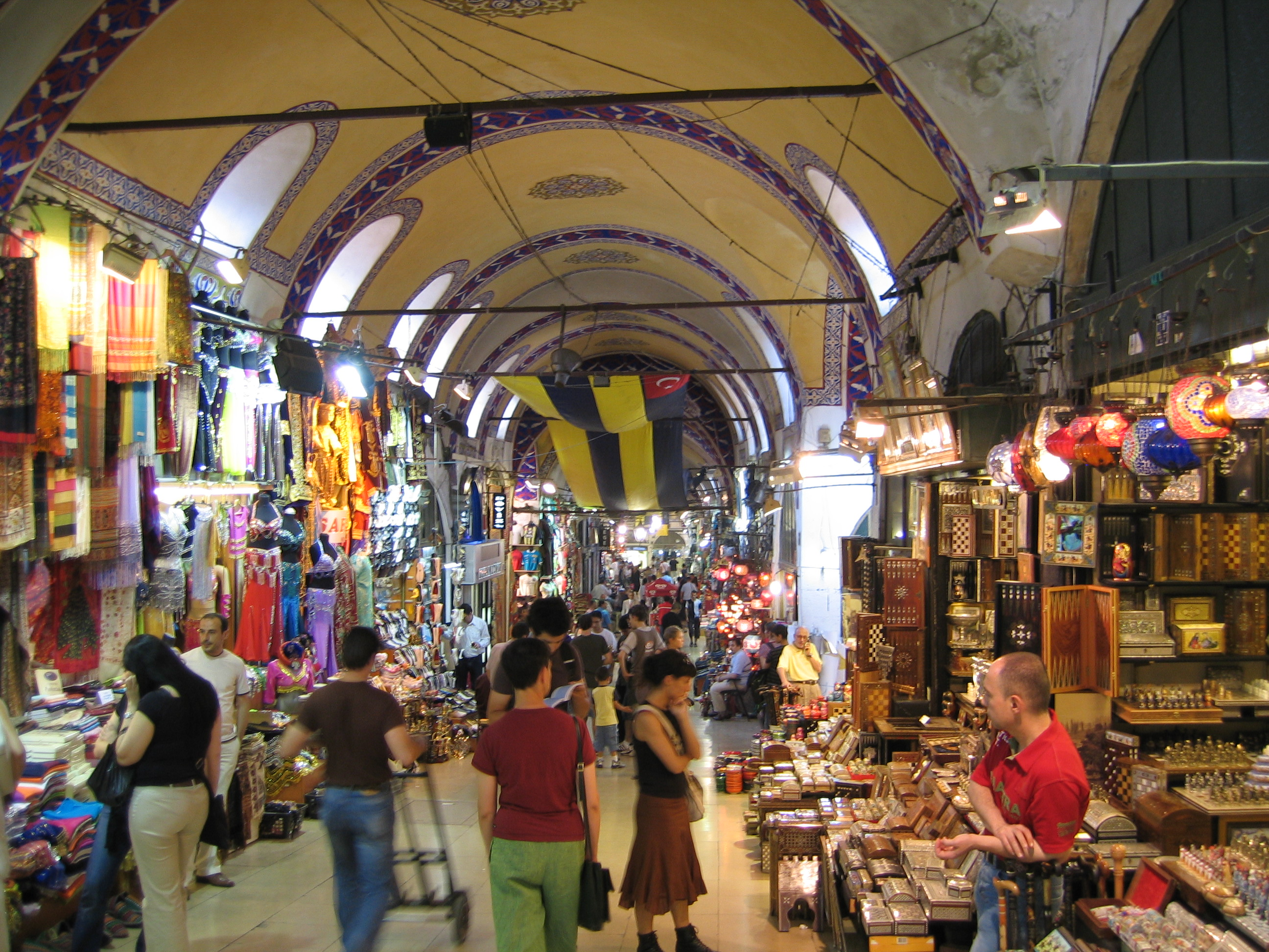 Negotiate at a Turkish Bazaar