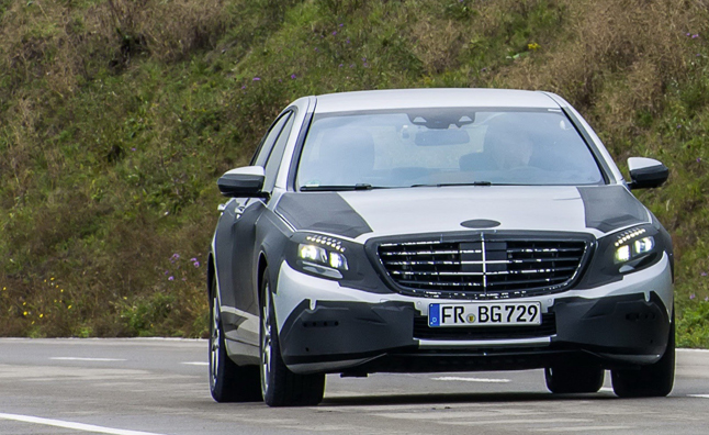 New Mercedes S-Class Will Be Available Soon
