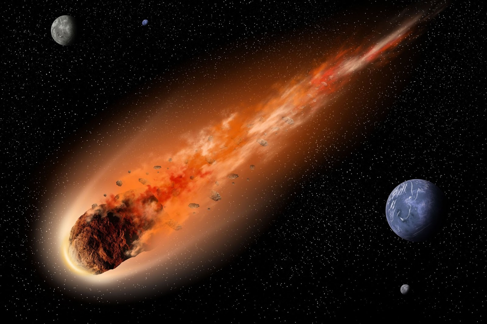 NASA – Campaign to Detect Asteroids that Threaten Earth