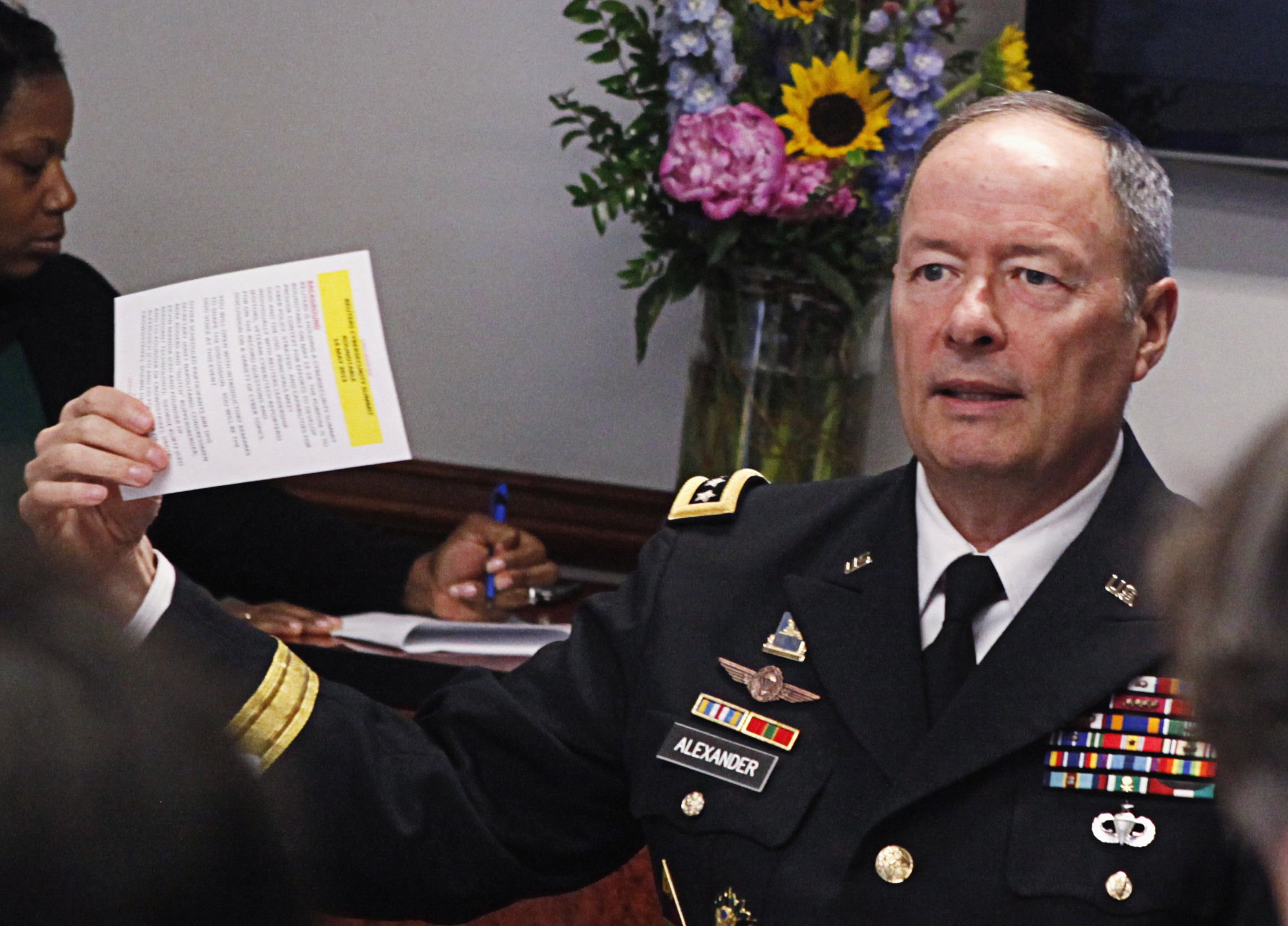 NSA Director Keith Alexander and Sacrificing Right to Privacy