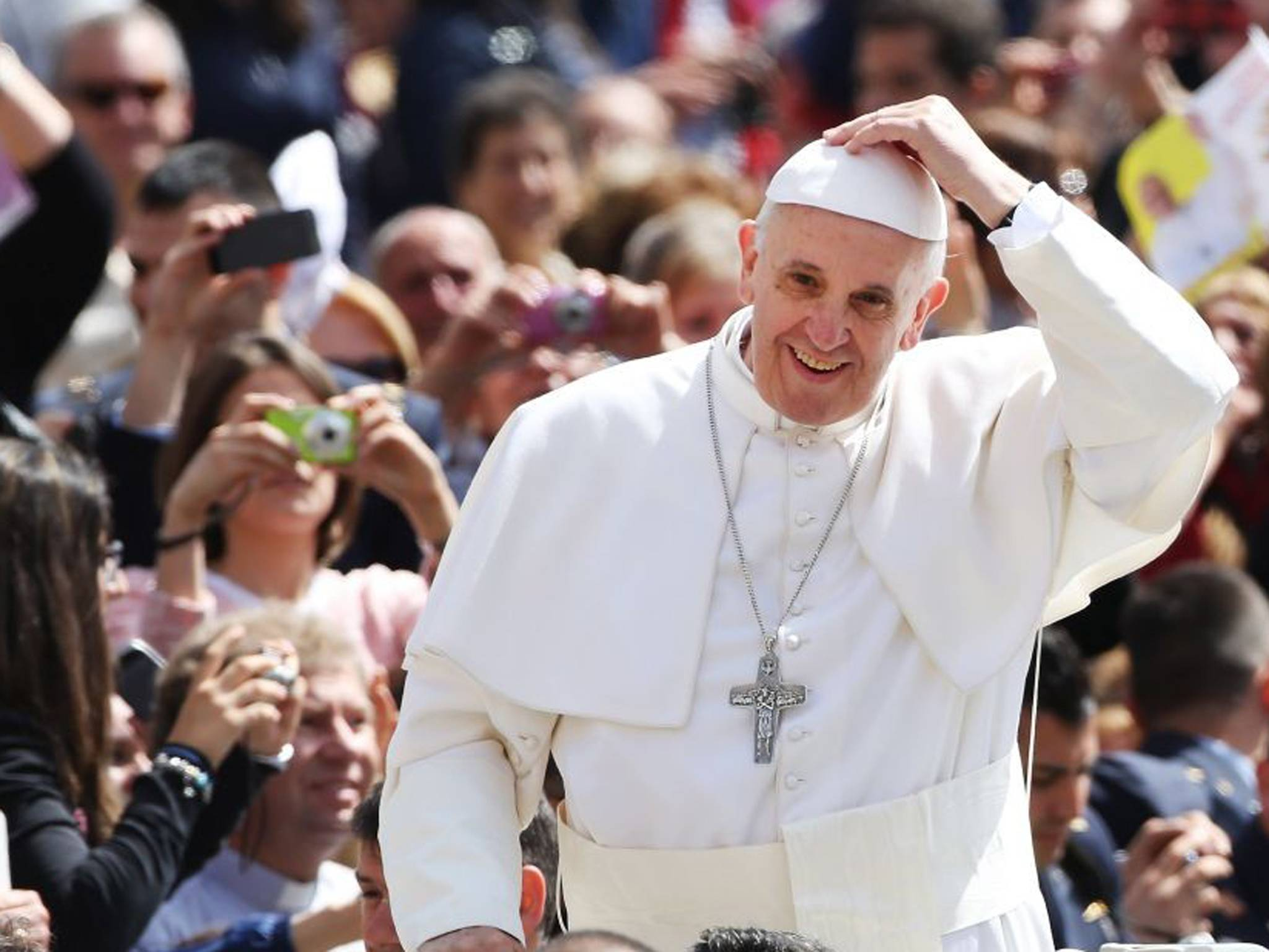 """Pope Francis, after Returning from Brazil Where He Attended the World Youth Day : """"Who Am I to Judge Gay People?!"""""""