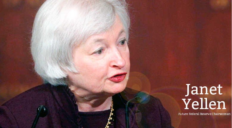 Janet Yellen's Nomination to Lead the Fed Boosts U.S. Dollar