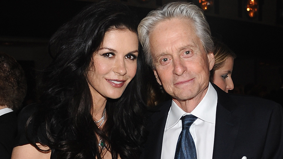 Michael Douglas Again Holding Hands with Catherine Zeta-Jones