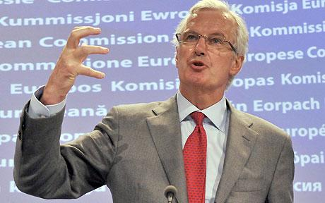 Michel Barnier : ESM Could Become Bank Resolution Organization