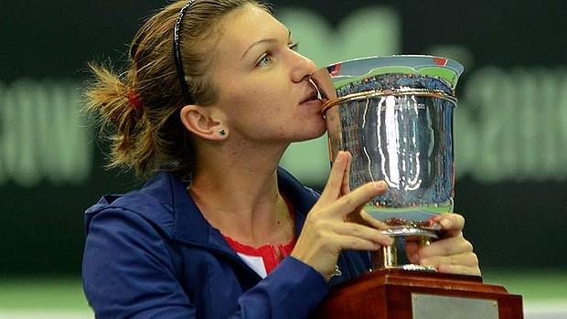 Simona Halep Wins WTA Tournament in Moscow