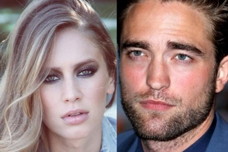 Robert Pattinson and Dylan Penn