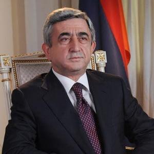armenia president serzh sargsyan