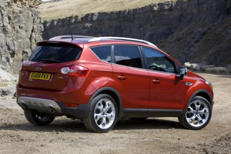 ford kuga red color