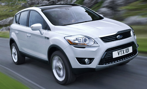 Ford Kuga Combines the Lines of a Limousine with a Famous SUV