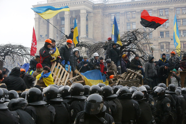 City Hall of Kiev Was Evacuated after Two Months and a Half of Occupation