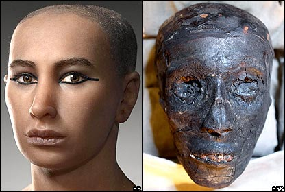 Pharaoh Tutankhamun lead to new ethnic and racial disputes worldwide