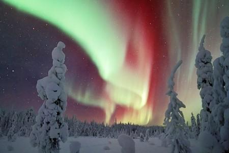 The aurora, Finland