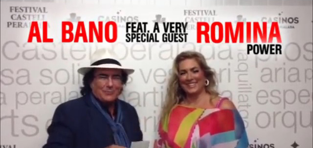 Al Bano and Romina Power Will Sing Together Again on October 5th 2014