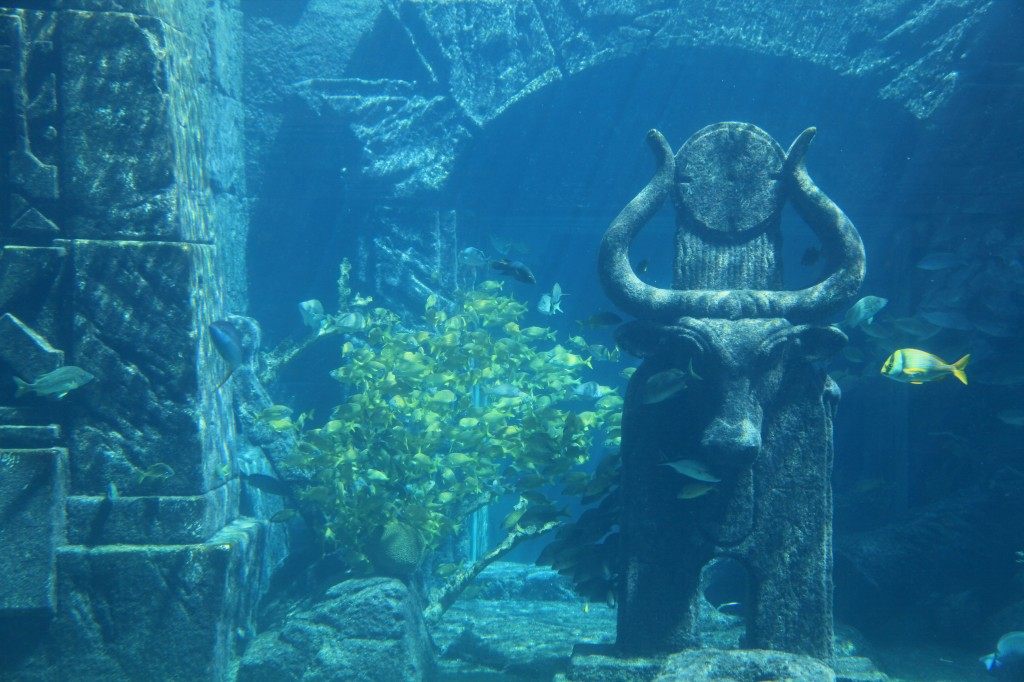 Atlantis City underwater