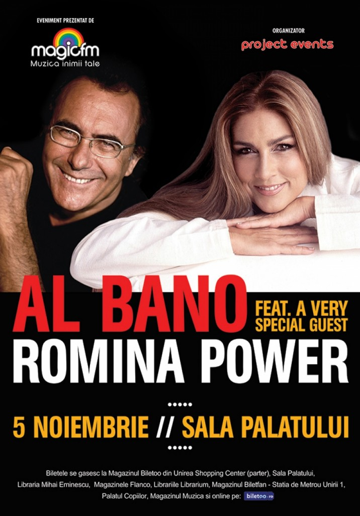 al bano and romina power in concert Bucharest 2014