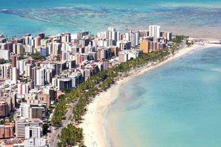 Maceio beach Brazil