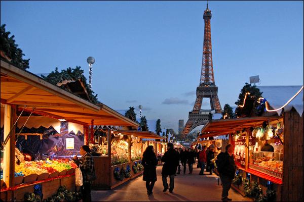 Paris for Christmas